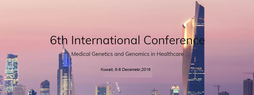 "Prof. Said Ismail presents Qatar Genome experience in ""Paving the way towards personalized medicine"" in the 6th International Medical Genetics Conference in Kuwait"